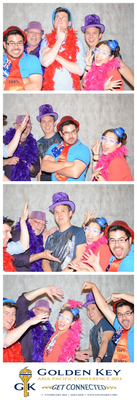 There was a photo booth at the Gala Dinner and my colleagues all snapped some fun photos! Good times!