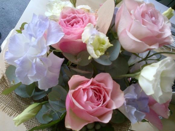 Beautiful Loveholic floral arrangement. So sweet!
