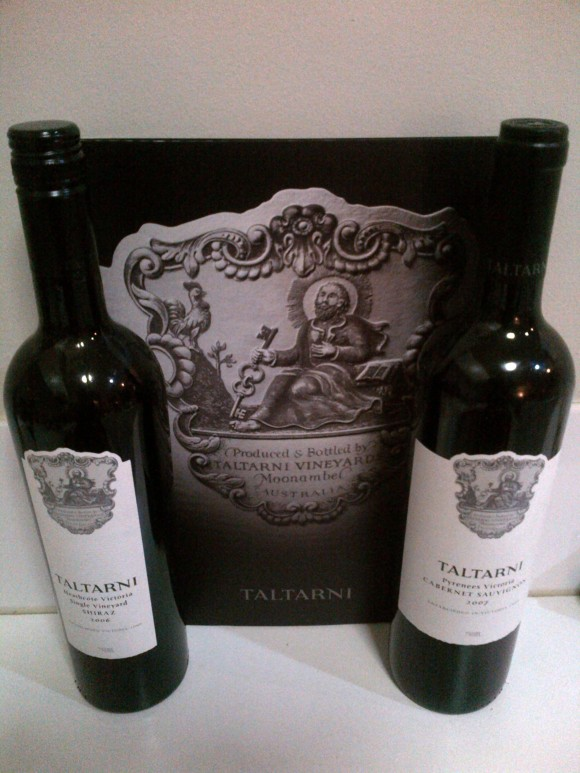 I won 6 bottles of Taltarni Victorian Wine worth $200!