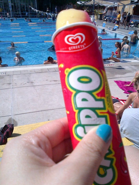 Calippo icey-pole!
