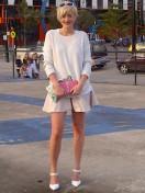 Gorgeous fashion blogger!