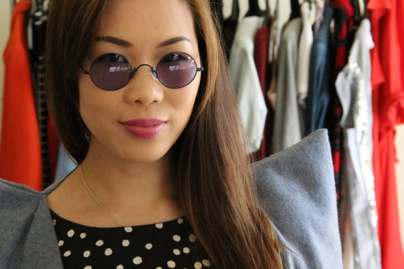 Love these Morgenthal Fredericks sunnies. Feel as cool as John Lennon.