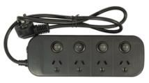 Jackson Surge Protected 4 Multi Plug $19.88