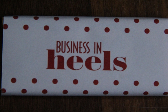 Business in Heels chocolate bar? Yes, please!