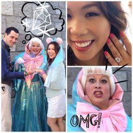 Disney Fairy Godmother Proposal