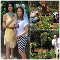 Pocahontas & her Furry Friends!