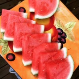 Not summer without watermelon.