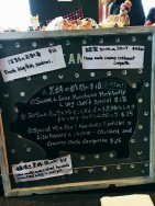 Specials Board at Gypsy & Pig.