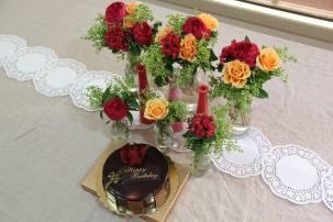 The cake display I made.
